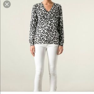 Michael Kors leopard print sweater